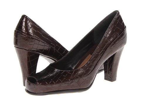 Aerosoles - Big Ben (Brown Croco) High Heels
