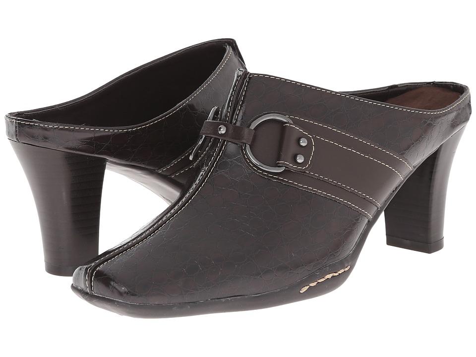 Aerosoles - 2 Snapezoid (Dark Brown) Women's Shoes