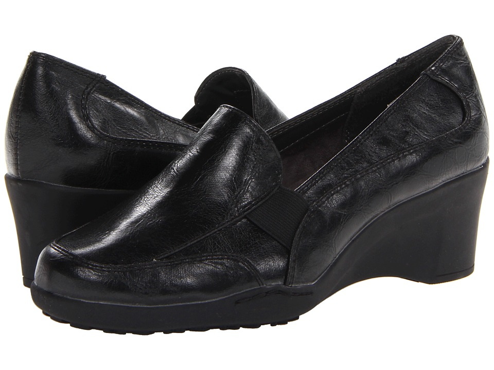 Aerosoles - Torque (Black) Women's Slip on Shoes