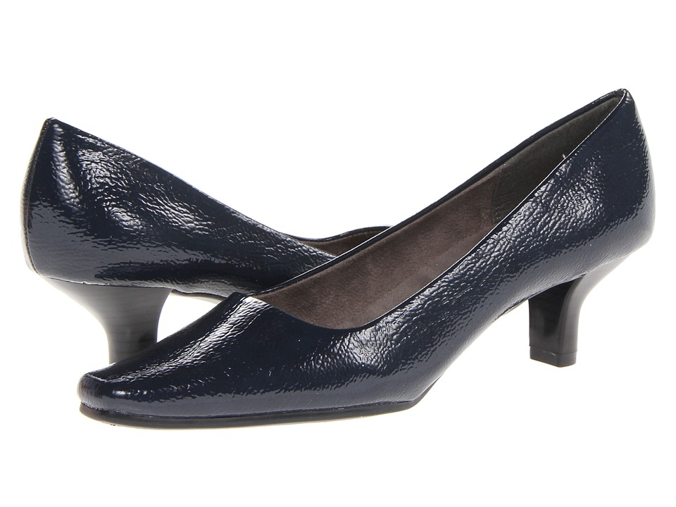 Aerosoles - Dimperial (Dark Blue Patent) Women's Slip-on Dress Shoes