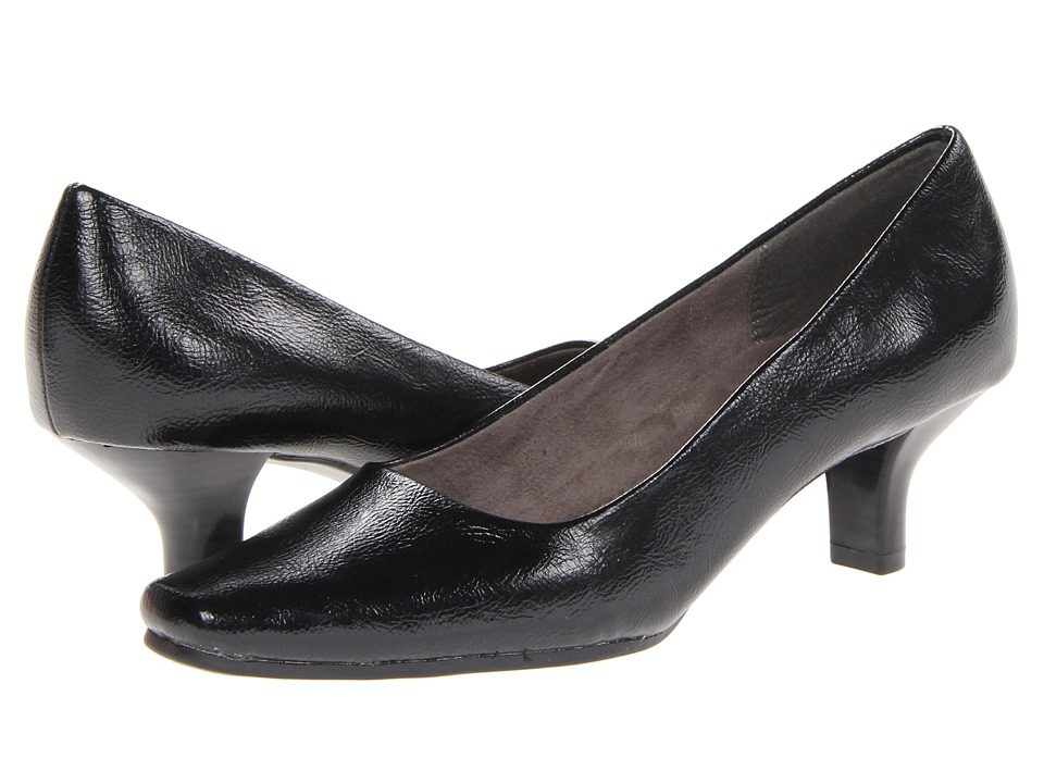 Aerosoles - Dimperial (Black Patent) Women's Slip-on Dress Shoes