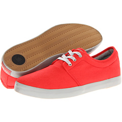 SALE! $16.99 - Save $33 on Dekline River (Red Grey Canvas) Footwear - 66.02% OFF $50.00