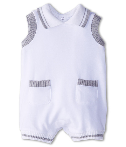 Dolce & Gabbana - Sleeveless Jumper (Infant) (White) Women's Jumpsuit & Rompers One Piece