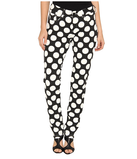 LOVE Moschino - Polkadot Pants (Black/White) Women