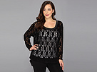 DKNY Jeans Plus Size Lace Top
