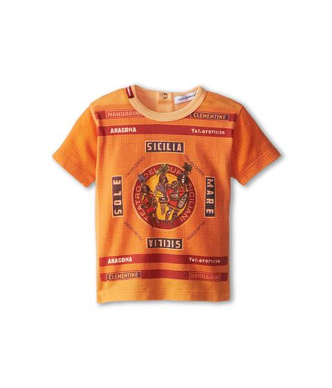 Dolce & Gabbana - Map T-Shirt (Infant) (Multi) Men