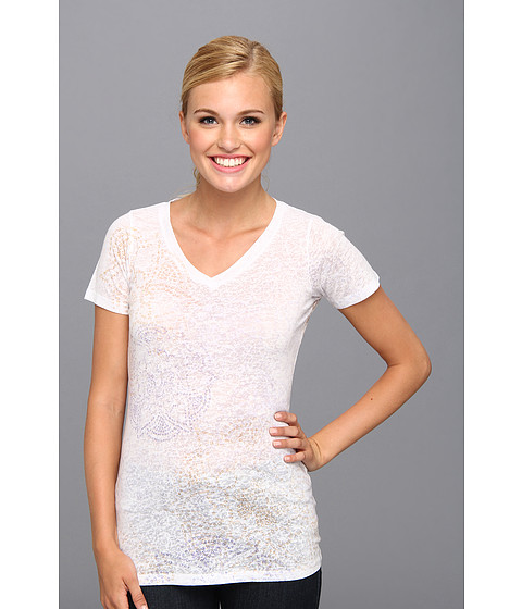 Aventura Clothing - Auburn S/S Top (White) Women