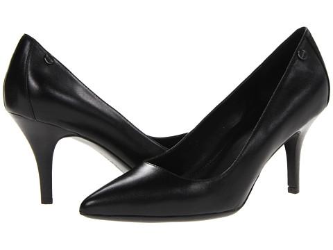 Calvin Klein - Nadine 2-Tone Kidskin (Black) High Heels