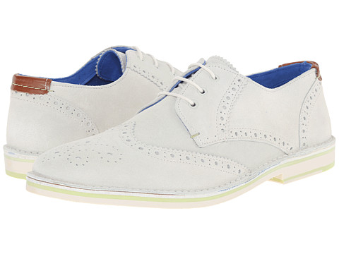 Ted Baker - Jamfro 3 (White Suede) Men