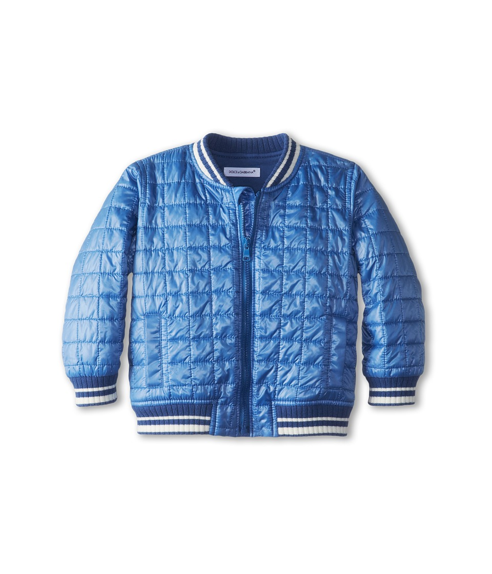 Dolce & Gabbana - Quilted Baseball Jacket (Infant) (Aviation) Coat