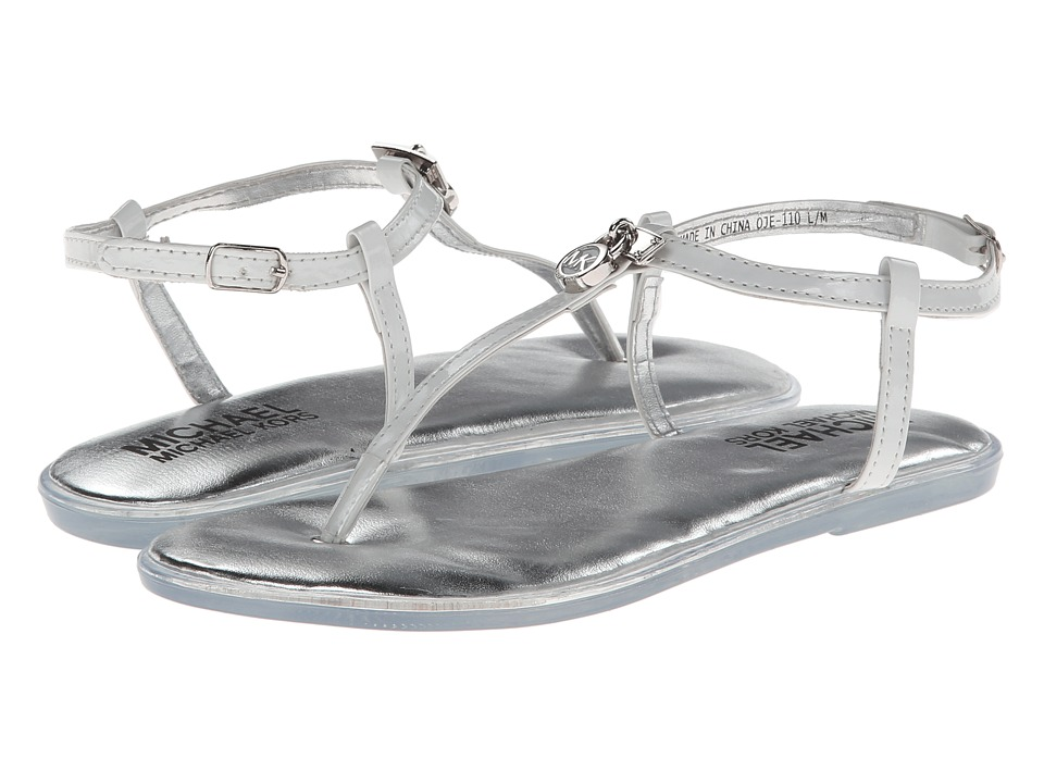 MICHAEL Michael Kors Kids - Jelly Patty (Toddler/Little Kid/Big Kid) (White) Girls Shoes