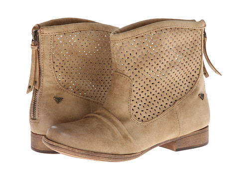 Roxy - Vallerie J Boot (Tan) Women's Lace-up Boots