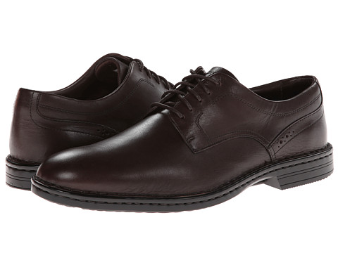 Rockport - Rocsport LT BSN PLT (Coach Brown) Men's Plain Toe Shoes