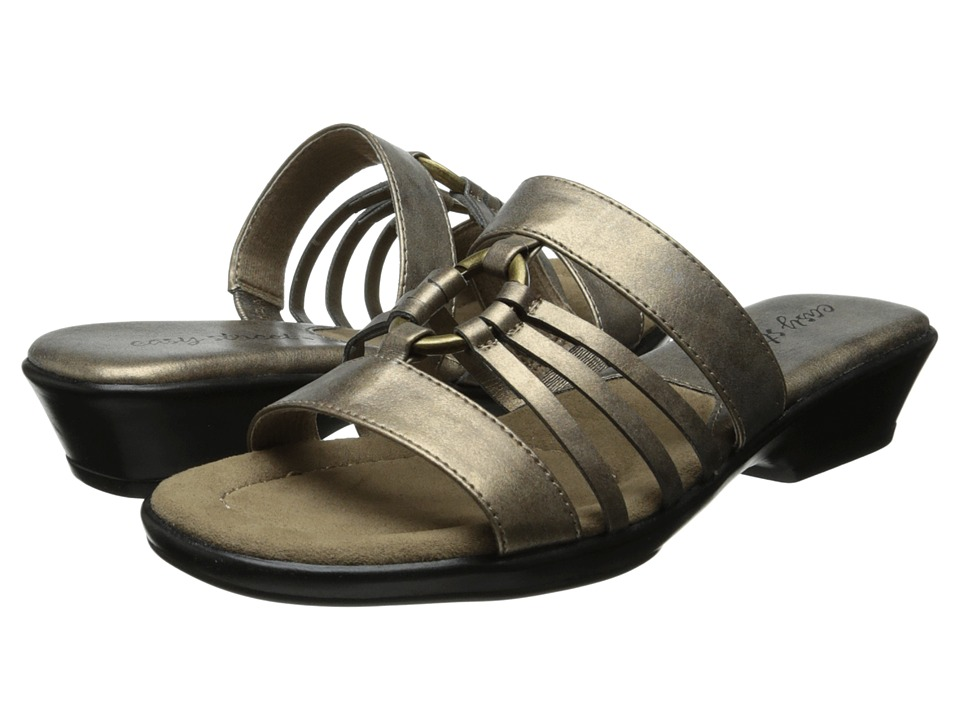 Easy Street - Scorch (Bronze Metallic) Women's Slide Shoes
