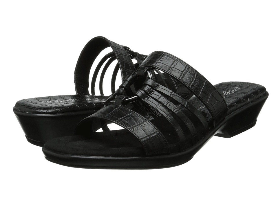 Easy Street - Scorch (Black Croco) Women's Slide Shoes