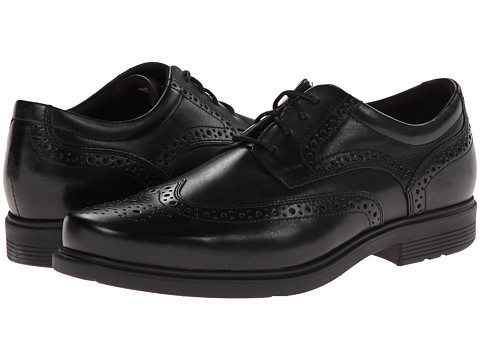 Rockport - Style Tip Wingtip (Black) Men