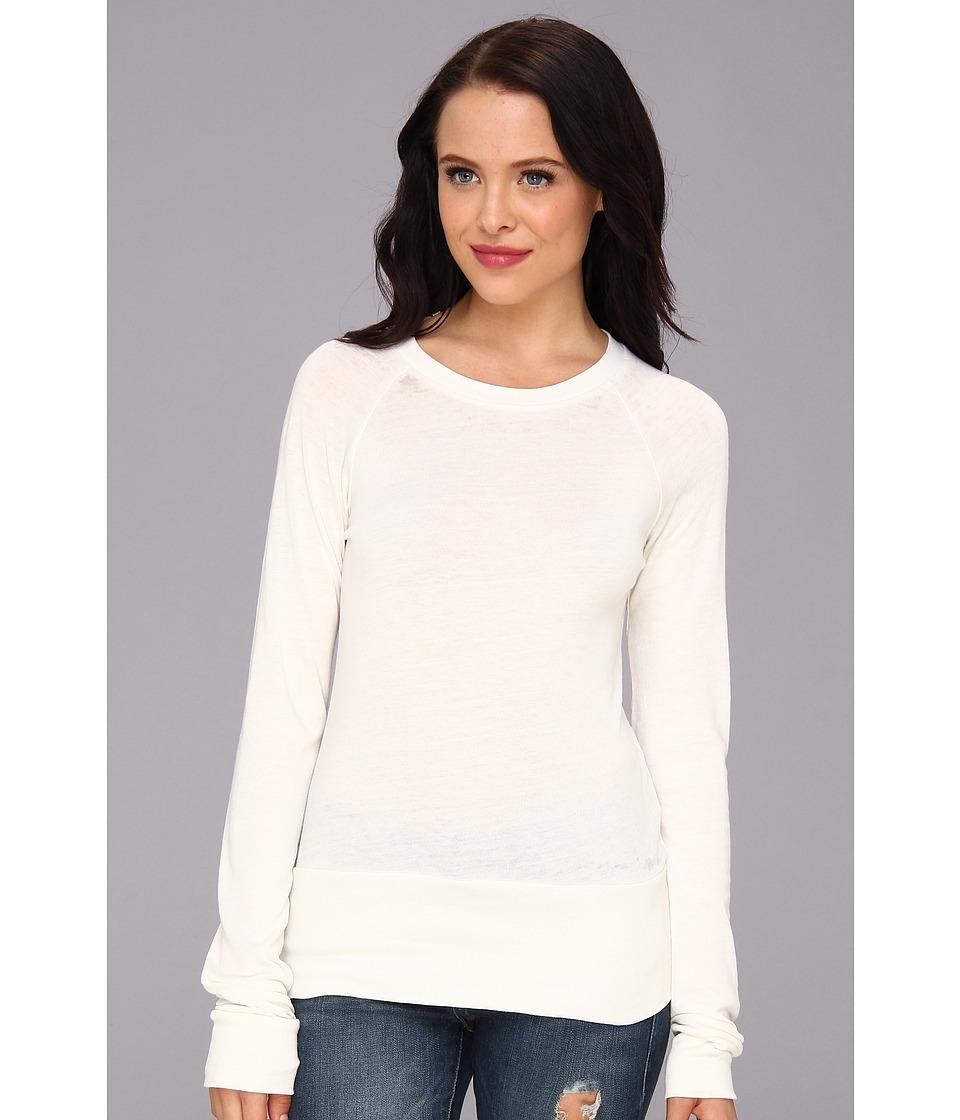 Alternative - Basic Raglan Top (Vintage White) Women's T Shirt
