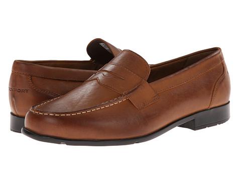 Rockport - Classic Loafer Lite Penny (Caramel) Men's Slip-on Dress Shoes