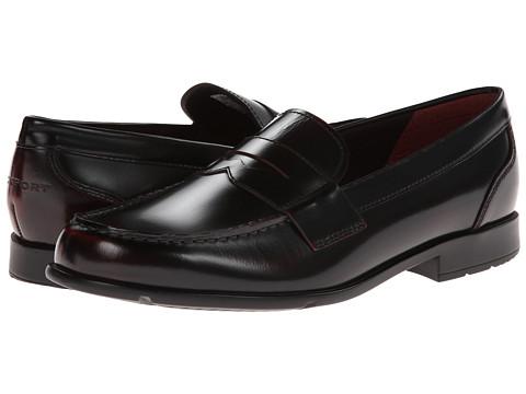 Rockport Classic Loafer Lite Penny (Burgundy) Men's Slip-on Dress Shoes