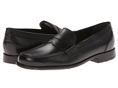 Rockport - Classic Loafer Lite Penny (Black) Men's Slip-on Dress Shoes