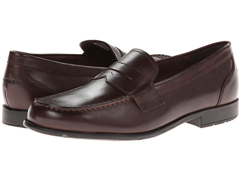 Rockport - Classic Loafer Lite Penny (Coach Brown) Men