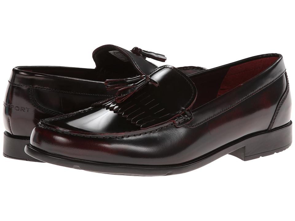Rockport Classic Loafer Lite Tassle (Burgundy) Men