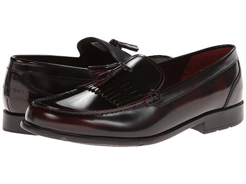 Rockport Classic Loafer Lite Tassle (Burgundy) Men's Slip-on Dress Shoes