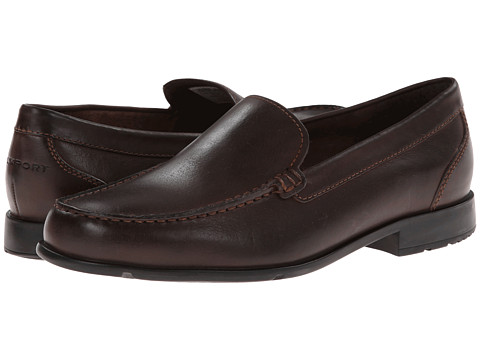 Rockport Classic Loafer Lite Venetian (Coach Brown) Men's Slip on  Shoes