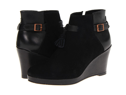 Wolverine - Socialite Demi Wedge Boot (Black) Women