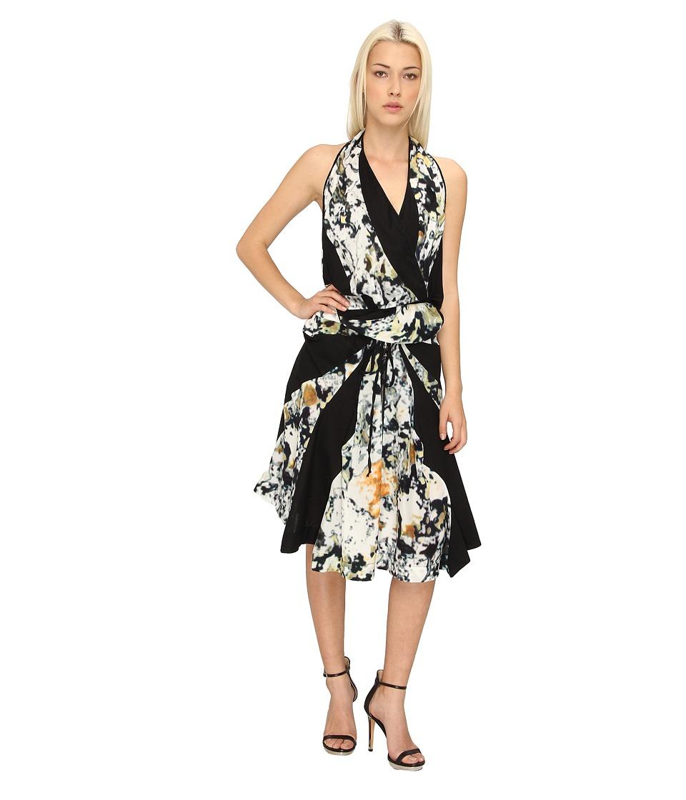 Vivienne Westwood - Swirl Dress (Black Mirage) Women's Dress
