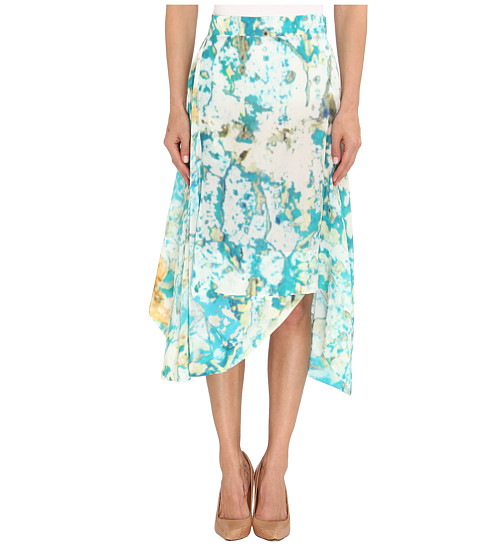 Vivienne Westwood Anglomania - Aztec Skirt (Turquoise) Women's Skirt