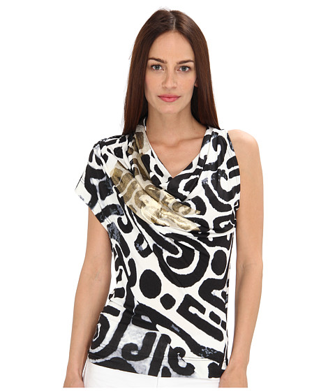 Vivienne Westwood Anglomania - Mosaic Top (Black/White Maze) Women's Blouse