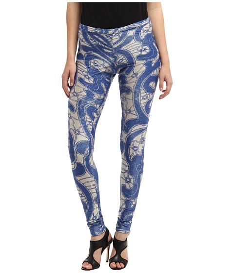 Vivienne Westwood Anglomania - Leggings (Cobalt Lace) Women's Casual Pants
