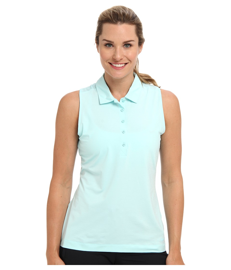 Nike Golf - Sport Novlety Sleevless Top (Glacier Ice) Women's Sleeveless