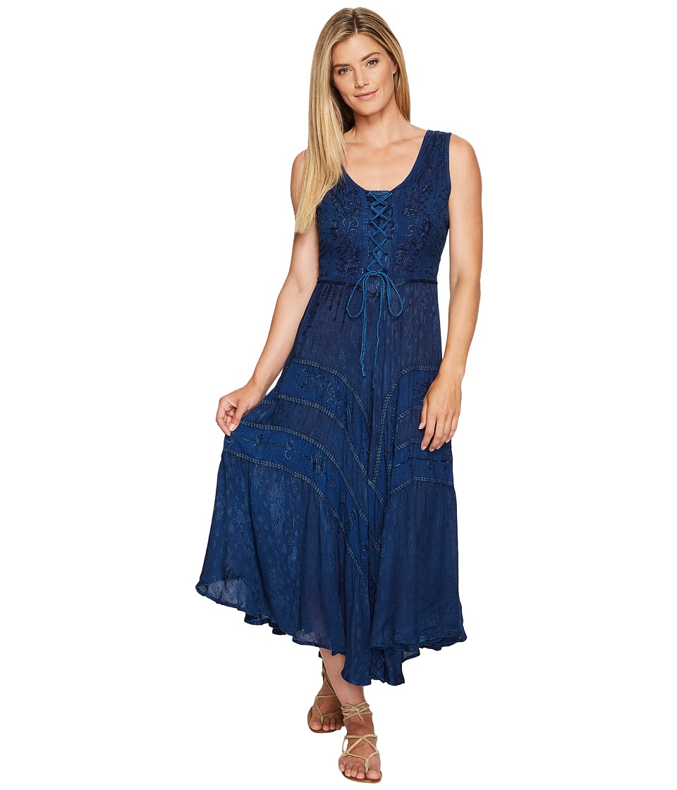 Scully - Honey Creek Amelie Dress (Blue) Women's Dress