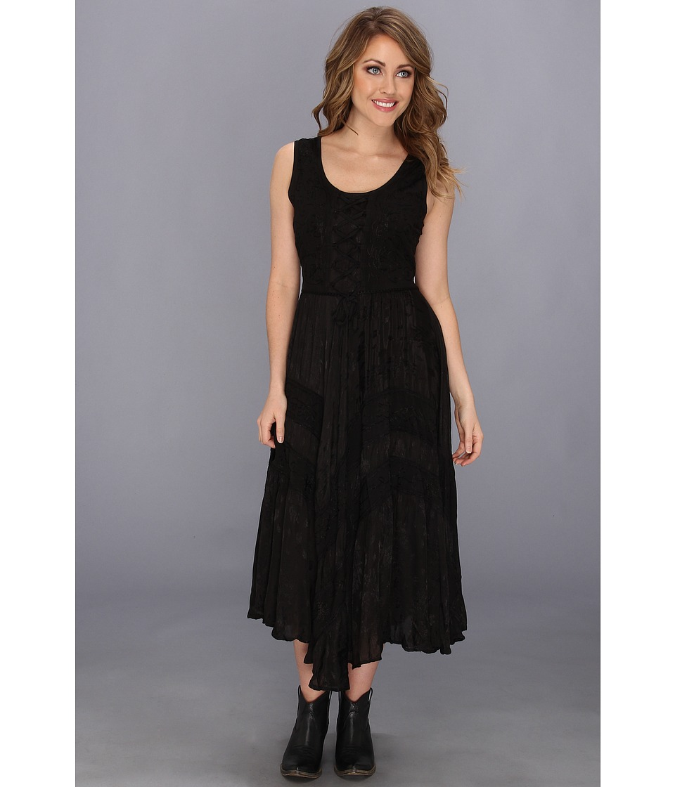 Scully - Honey Creek Amelie Dress (Black) Women