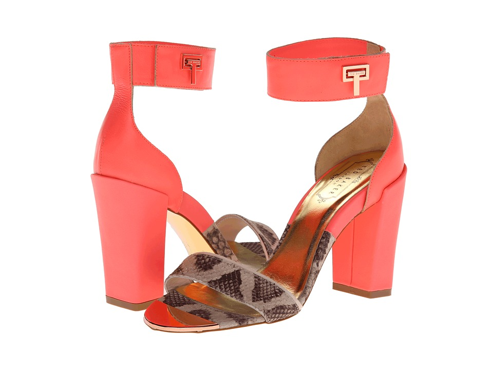 Ted Baker - Aaleyah (Pink/Nude Leather) Women's Sandals