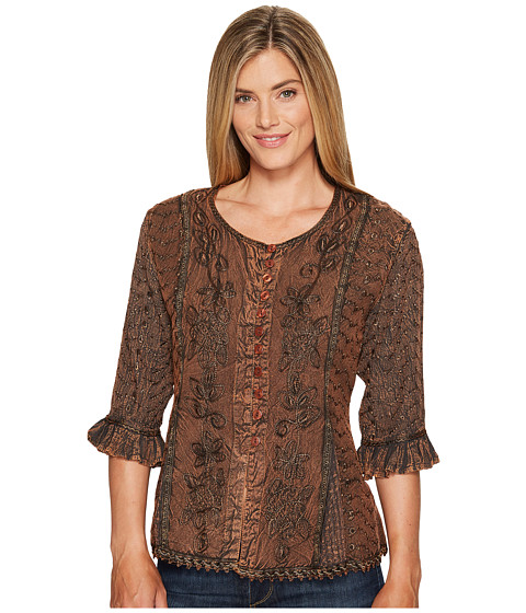 Scully - Honey Creek Cherie Blouse (Copper) Women's Blouse