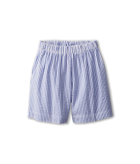 Oscar de la Renta Childrenswear - Seersucker Shorts (Infant) (Navy) Boy's Shorts