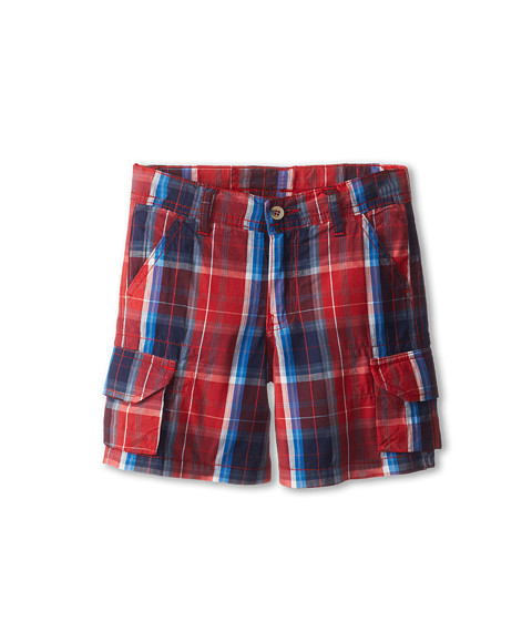 Oscar de la Renta Childrenswear - Cotton Trouillet Cargo Shorts (Toddler/Little Kids/Big Kids) (Cardinal Navy) Boy