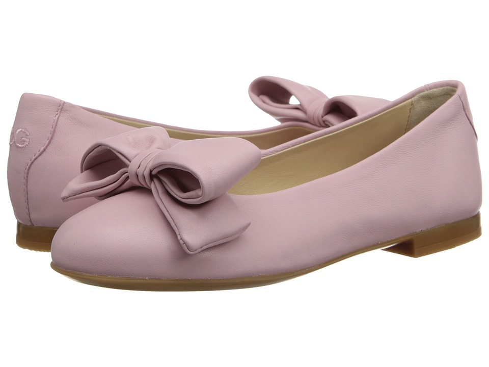 Dolce & Gabbana - Ballerina w/ Bow (Little Kid/Big Kid) (Pink Powder) Women's Shoes