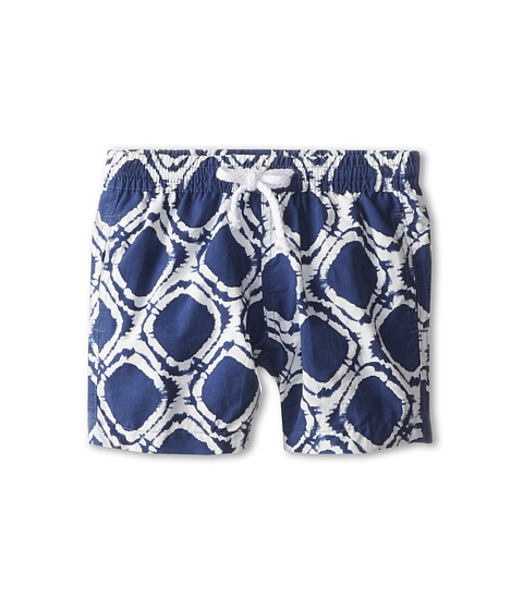 Oscar de la Renta Childrenswear - Denim Circle Classic Swim Shorts (Infant) (Navy White) Boy's Swimwear