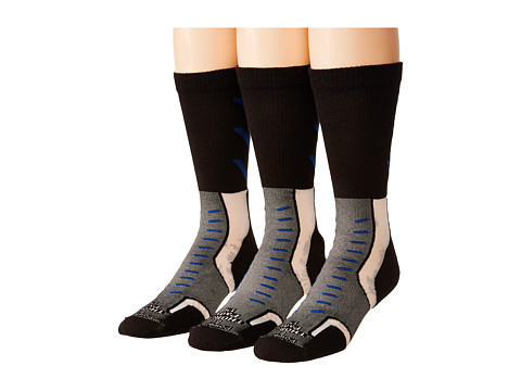 Thorlos - Experia Jet Crew 3 Pair Pack (Jet Royal) Crew Cut Socks Shoes