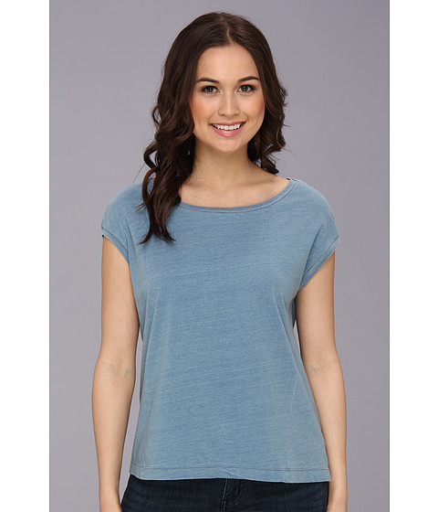 Alternative - Nori Top (Light Wash Indigo) Women's T Shirt
