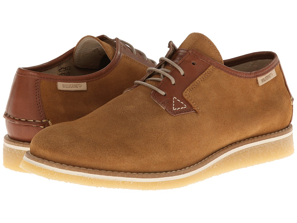 Wolverine Victor Crepe Oxford (Brown) Men