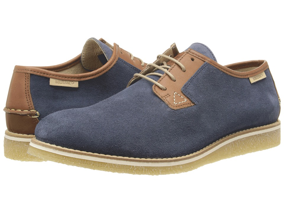Wolverine Victor Crepe Oxford (Navy) Men