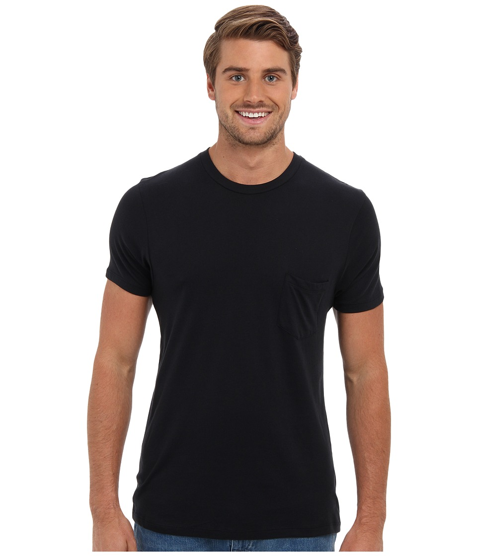 Alternative - Perfect Pocket Tee (Black) Men's Short Sleeve Pullover