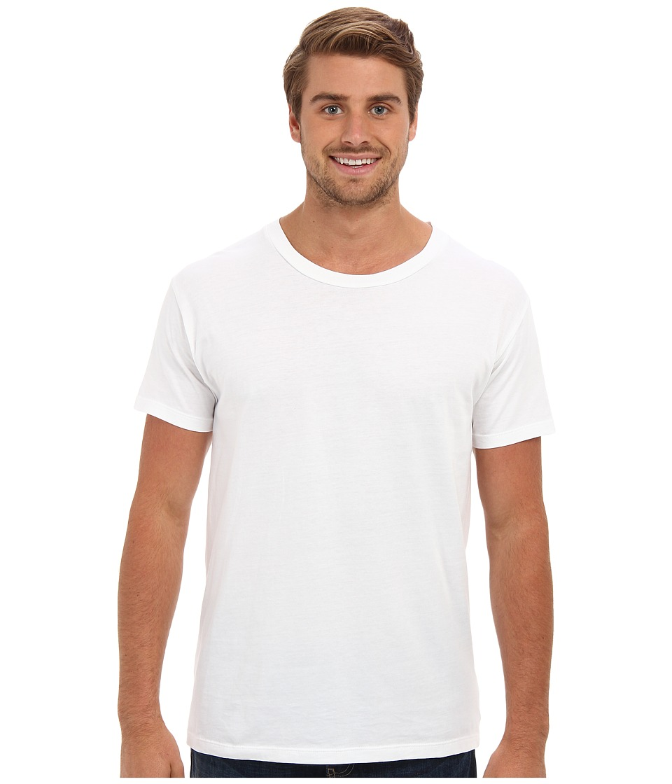 Alternative - Perfect Vintage Tee (White) Men's Clothing