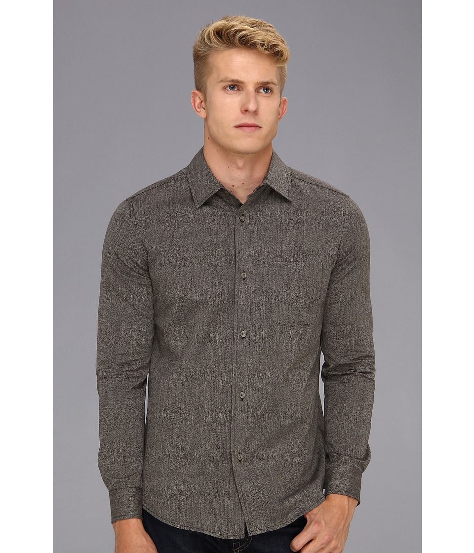 The Portland Collection by Pendleton Yachats Cotton Shirt Mens Clothing (Black)