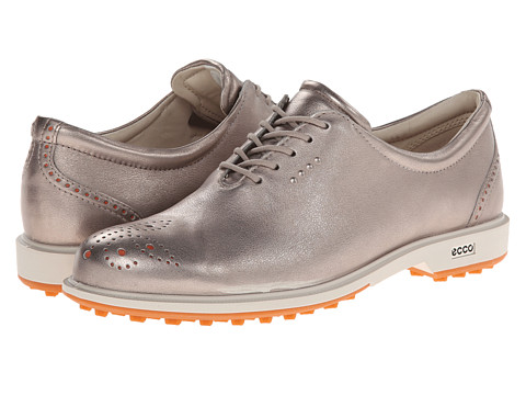 ECCO Golf - Tour Golf Hybrid (Moon Rock/Orange/Universe/Outsole) Women's Golf Shoes